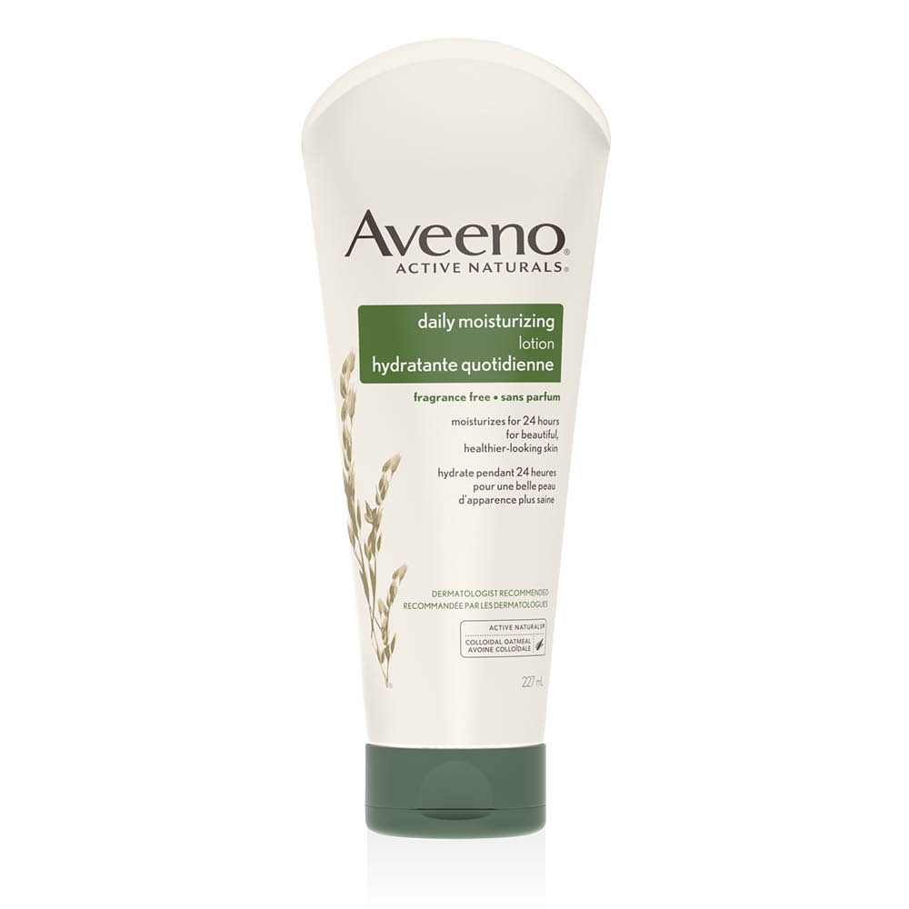 Tube de la lotion hydratante quotidienne Aveeno