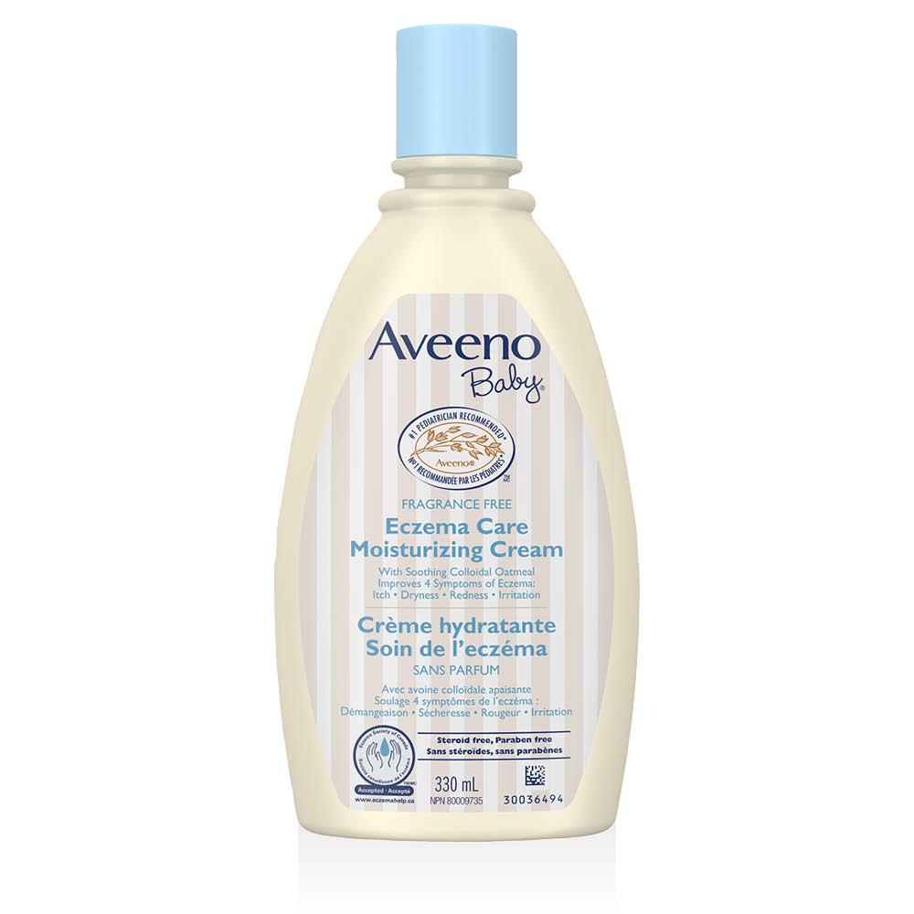 Flacon de la crème hydratante sans parfum Aveeno Soin de l'eczéma
