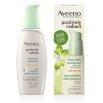 Flacon-pompe et boîte du voile hydratant pour le visage Aveeno positively radiant fps 30