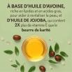 Brume à base d'huile Aveeno Soin hydratant quotidien Ingrédients : Un bol d'huile d'avoine et de jojoba