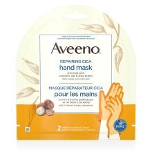Emballage du masque réparateur Cica Aveeno pour les mains Aveeno