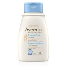 Flacon de la crème nettoyant pour le corps Aveeno Soin de l'eczéma