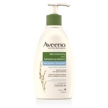 Flacon-pompe de la lotion hydratante quotidienne Aveeno Voile hydratant