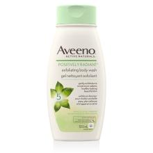 Flacon du gel nettoyant Aveeno positively radiant