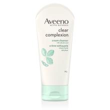 Tube de la crème nettoyante pour le visage Aveeno clear complexion