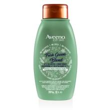 Flacon du shampoing et revitalisant 2-en-1 Aveeno Éclat de verdure