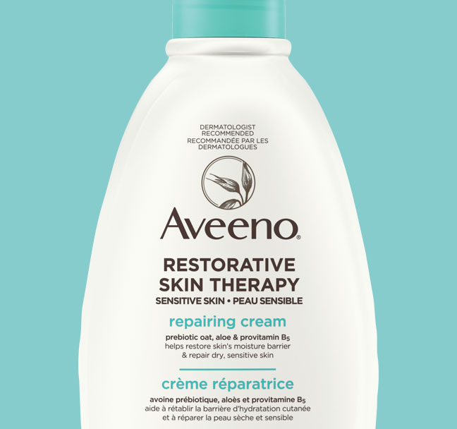 AVEENO® Restorative Skin Therapy Repairing Cream, 340g Pump