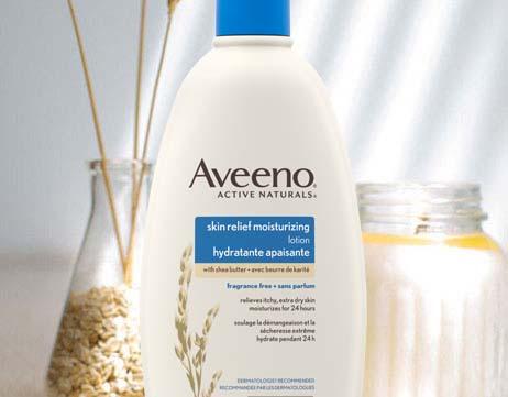 Lotion hydratante apaisante AVEENO® Sans parfum